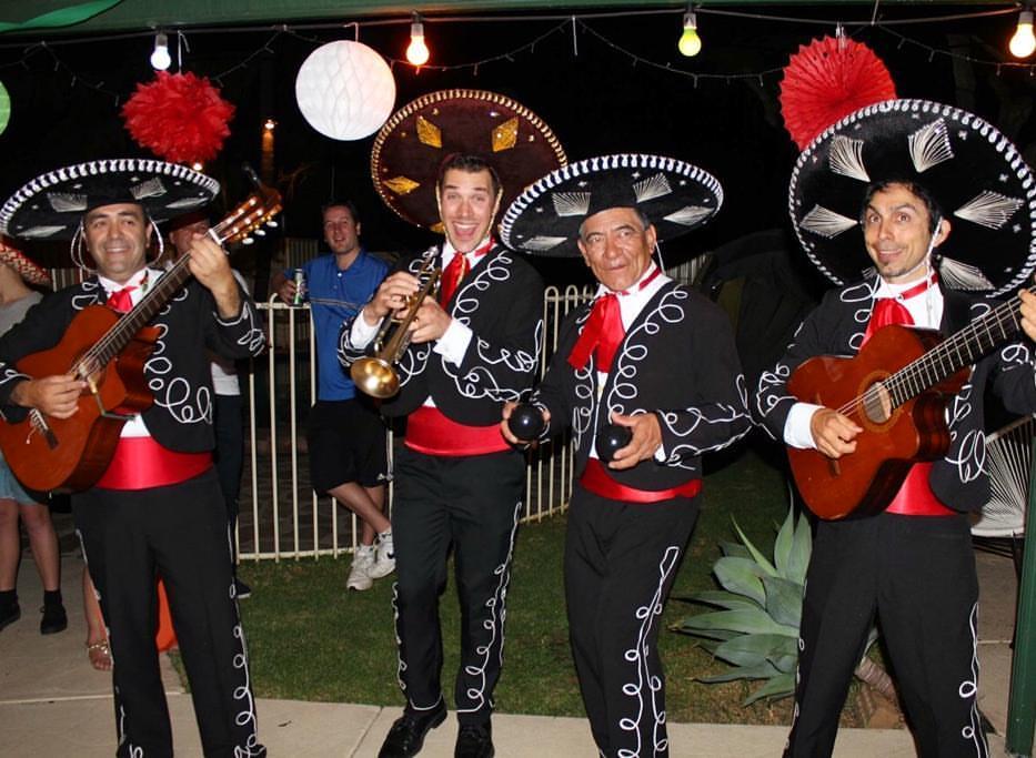 wedding anniversary mexican theme
