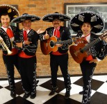 Olive Hume Real Estate in Melbourne, South Bank with The Three Amigos Roving Mariachi Mexican Band Melbourne