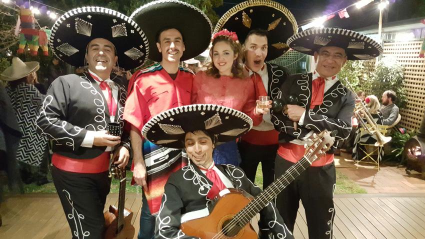 Birthday Party Mexican Theme Mariachi Band Adelaide Melbourne Sydney Australia