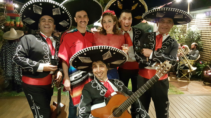 Birthday Party Mexican Theme Mariachi Band Adelaide Melbourne Sydney Australia