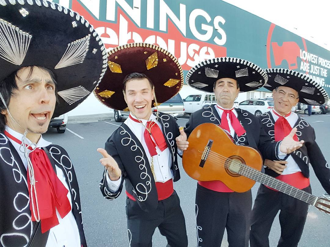 Bunnings Modbury and Parafield Adelaide Mexican Mariachi Entertainment Australia