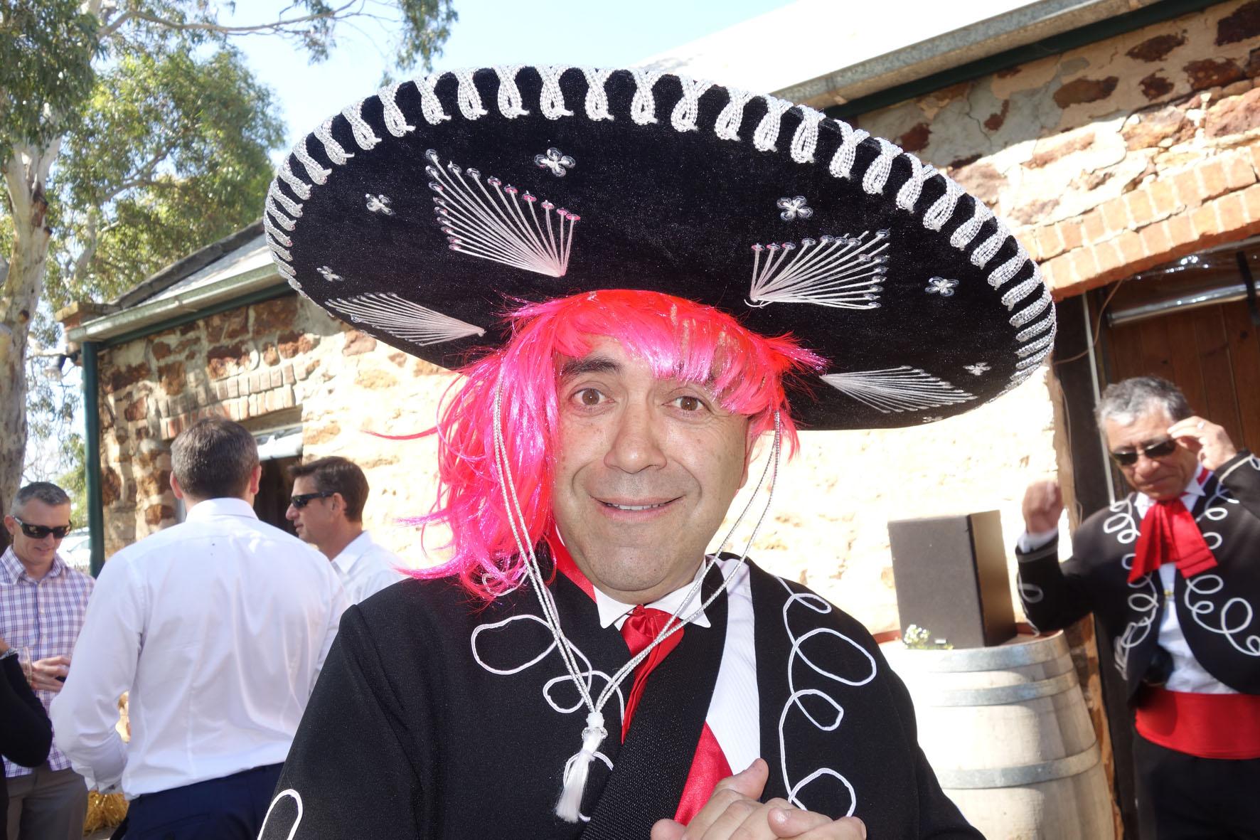 Carlos Pink Hair