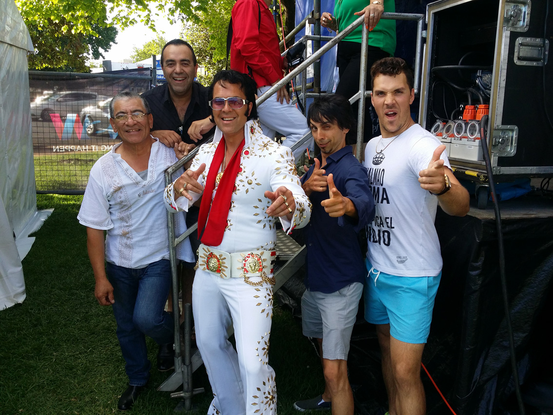Elvis In The Parkes