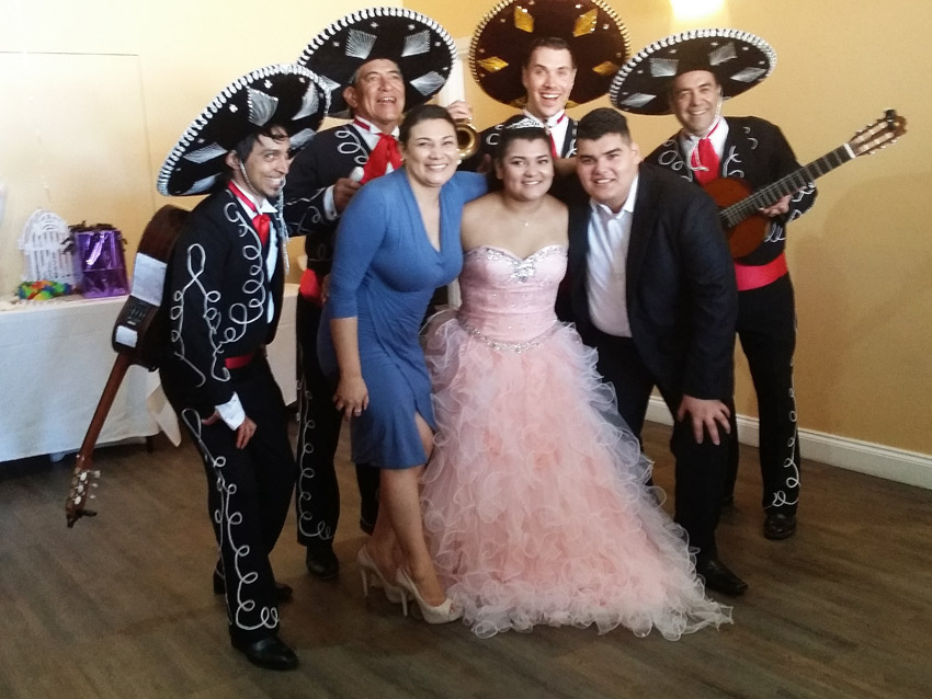 Katies Birthday with The Three Amigos Plus 1 Mexican Mariachi Band Adelaide Australia