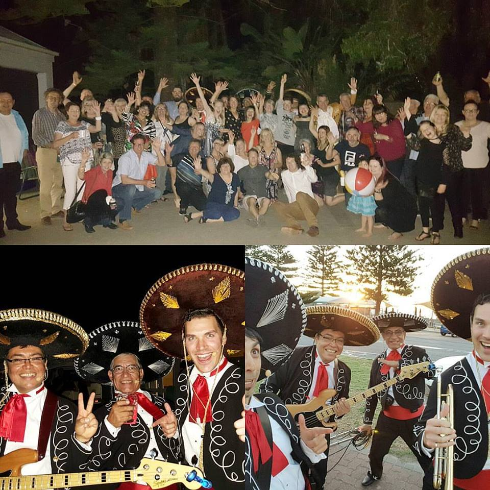 Lesley 60th Birthday mexican Mariachi band Adelaide Singapore Grand Prix Melbourne Sydney Australia Festivals Dubai
