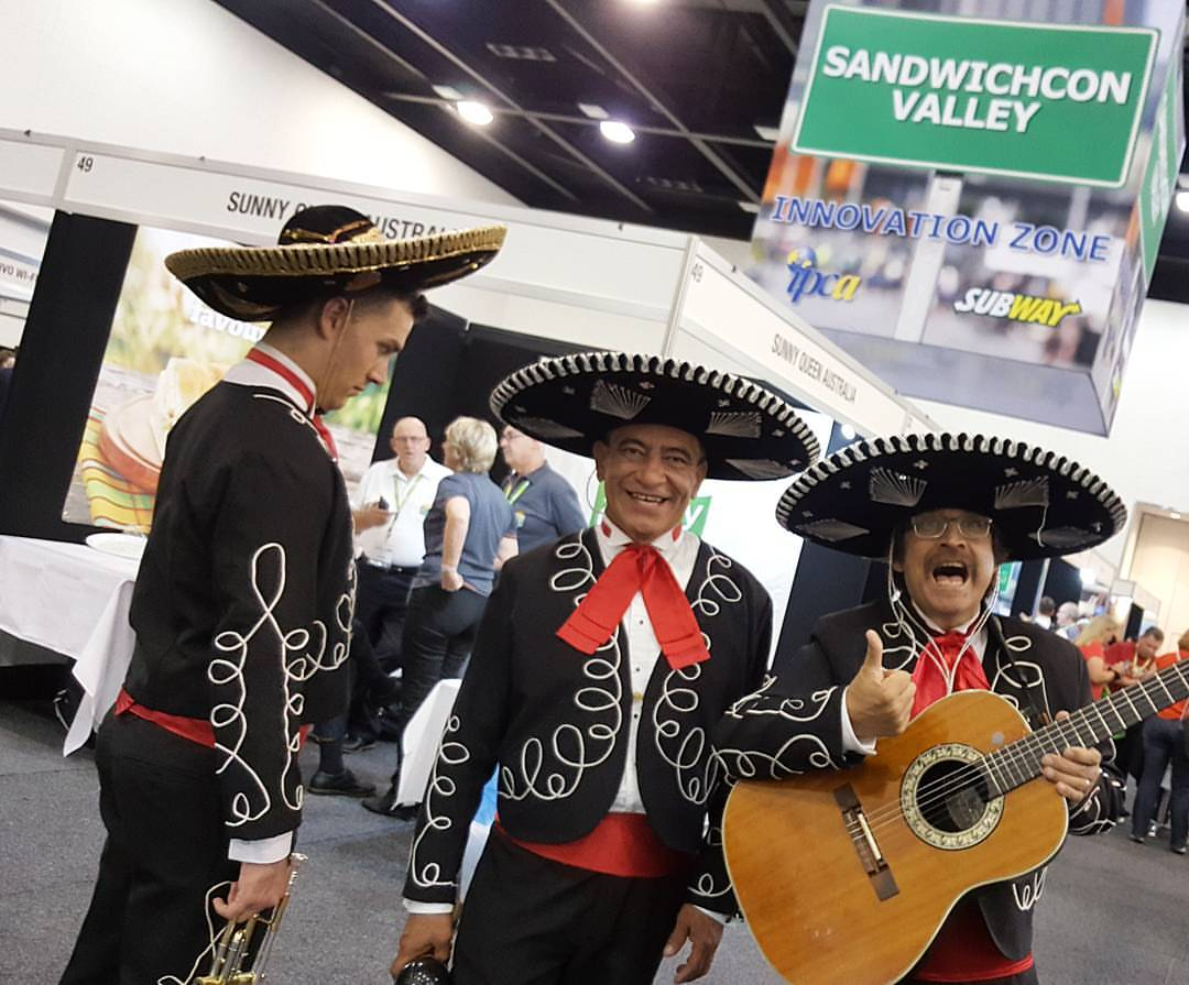 Mariachi Band Australia Subway