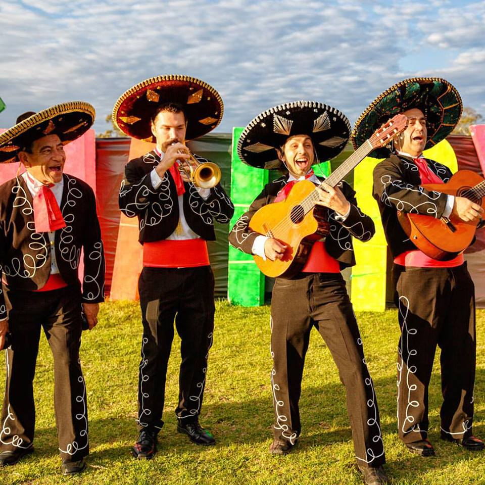 Roving Mariachi Band Adelaide Melbourne Sydney Gold Coast Brisbane