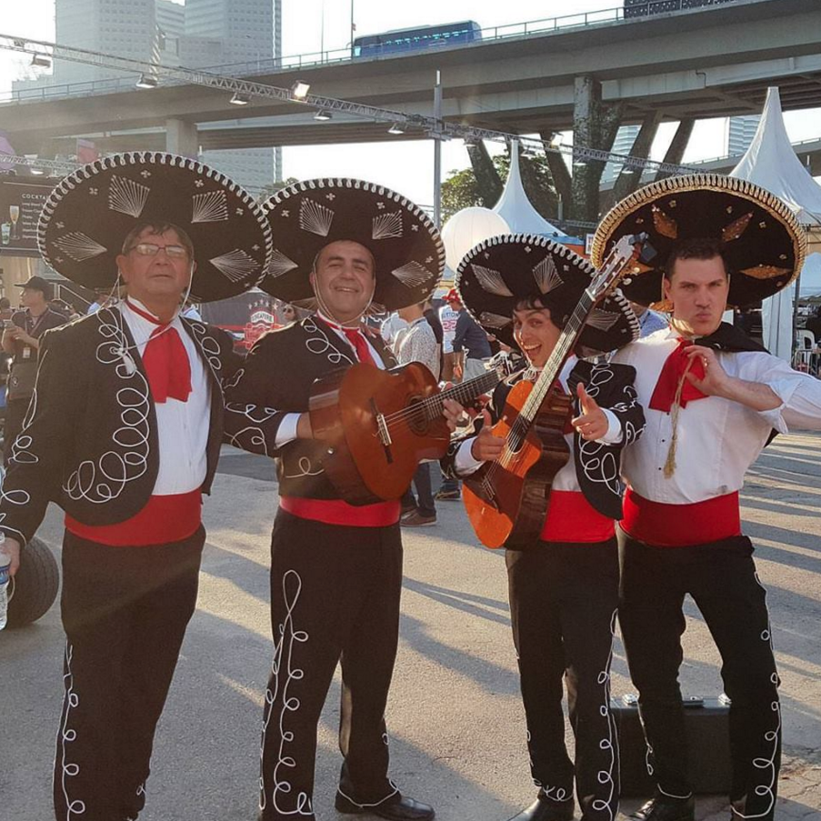 Singapore Formula One Grand Prix Mexican Mariachi Band Singapore