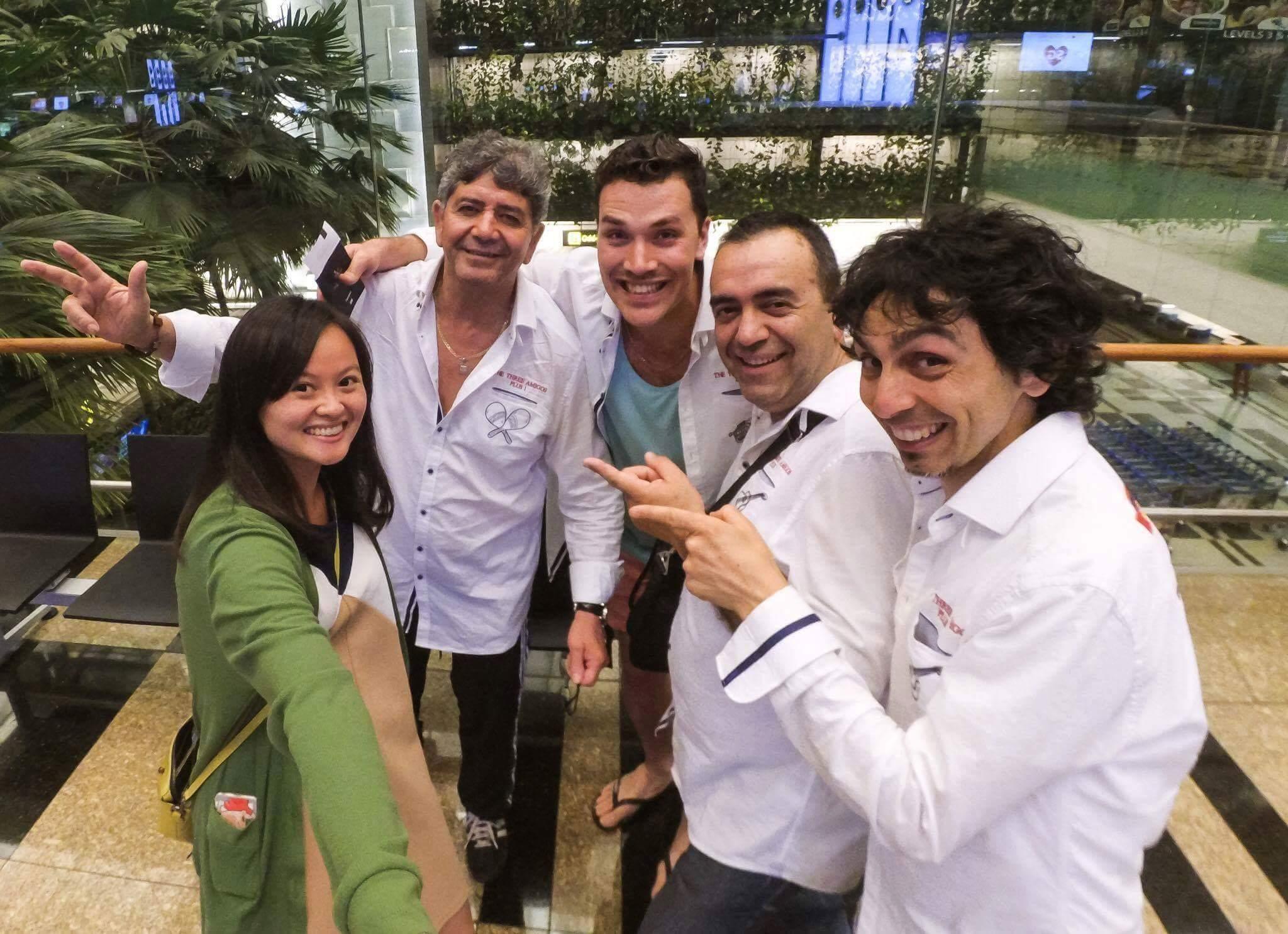 Singapore Formula Grand Prix Mexican Mariachi Band Singapore Adelaide Australia