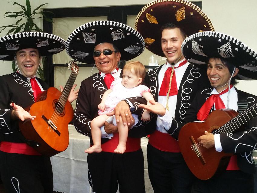 One Year Birthday with Mariachi Band Adelaide Australia