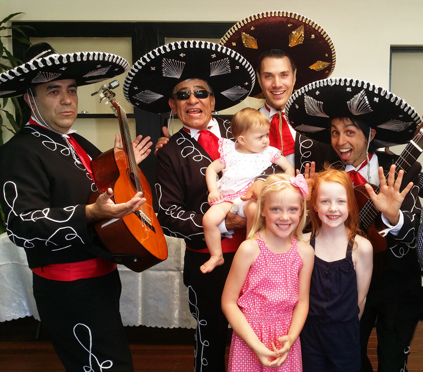 One Year Birthday with Mariachi Band Adelaide Australia