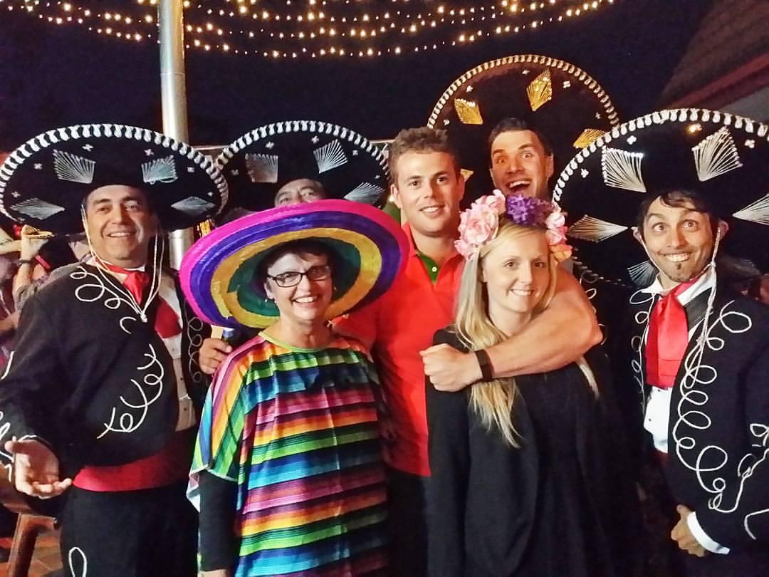 Mexican Mariachi themed birthday