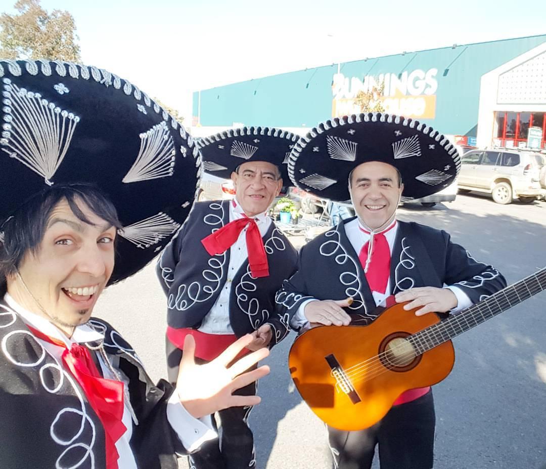 Bunnings Modbury and Parafield Adelaide Mexican Mariachi Entertainment Australia