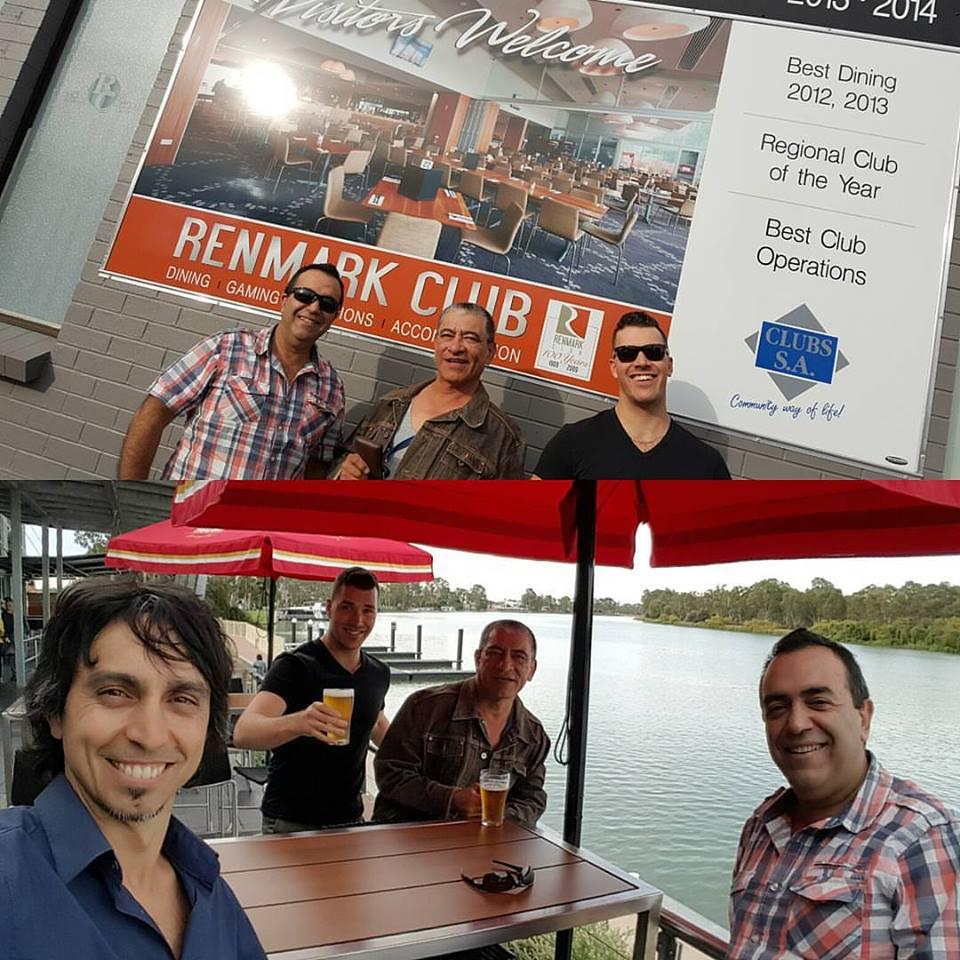 Renmark Club The 3 Amigos Adelaide Australia