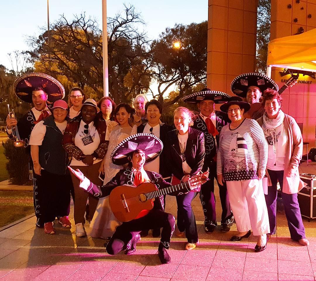 Roxby Downs Festival Multicultural Festival Mexican Mariachi Band Australia Adelaide, Melbourne, Sydney, Brisbane, Darwin, Perth, Tasmania, Singapore, Hong Kong, Dubai, mining town