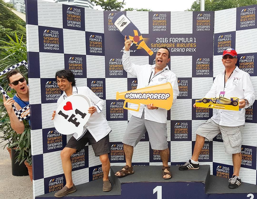 Singapore Formula One Grand Prix Mexican Mariachi Band Singapore