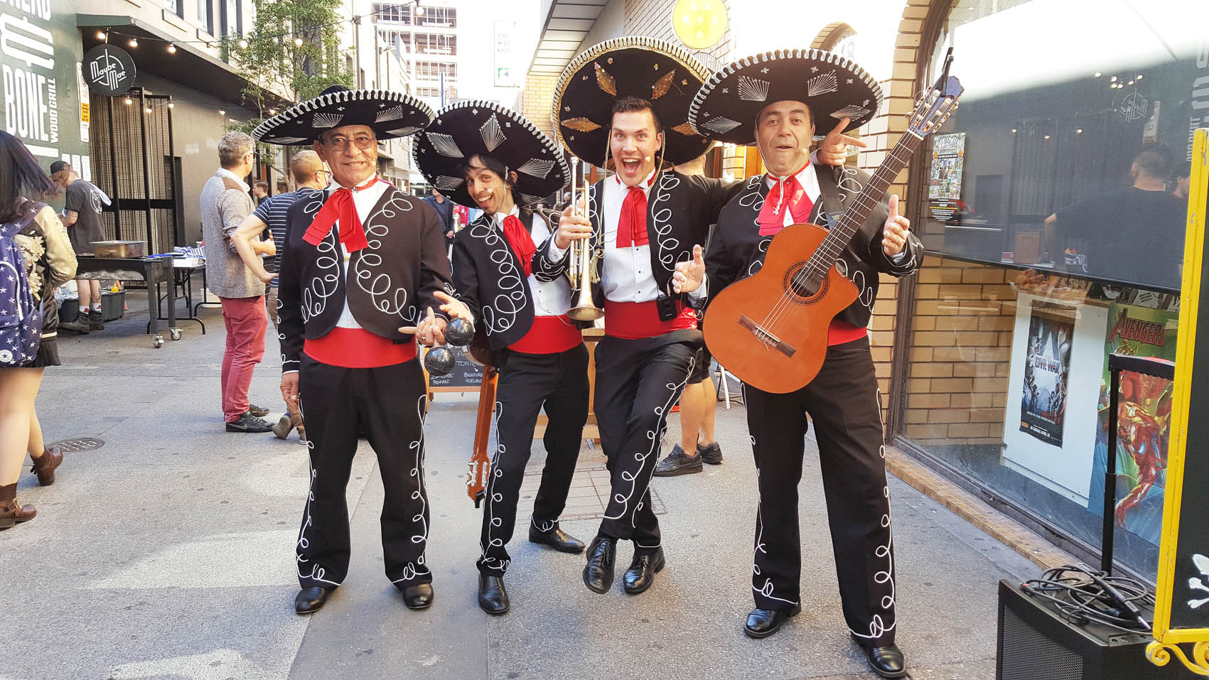 street-party-mexican-theme-adelaide-australia-singapore-melbourne-sydney-perth-duabi-hong-kong-japan-south-korea, event manager adelaide australia, wedding themes, wedding entertainment